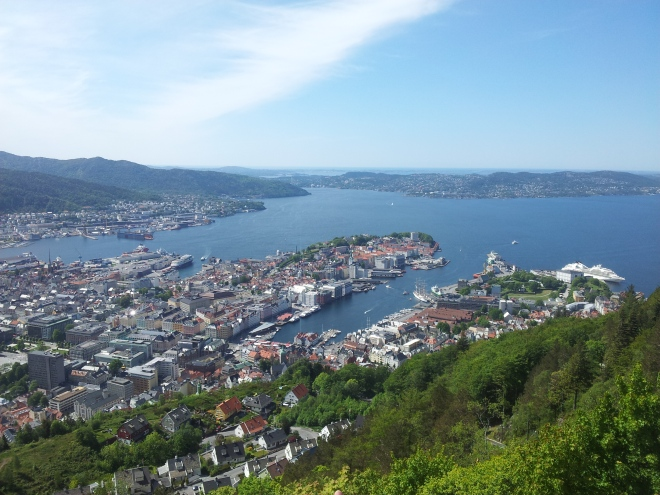 View from Mt. Fløyen