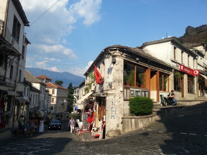 Bazaar main street