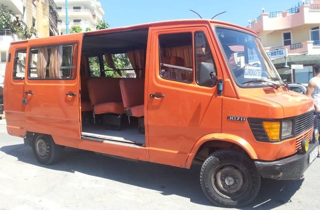 Bus to Gjirokastra