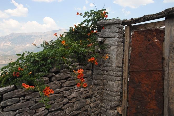 Gjirokastra hillside