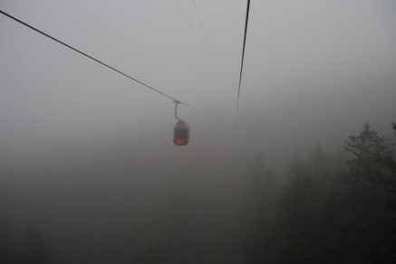 Cable car from the top to Kriens