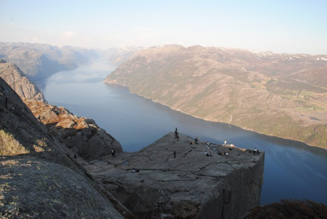 The Pulpit Rock and Lysefjorden