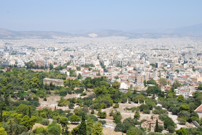 Fantastic view of Athens