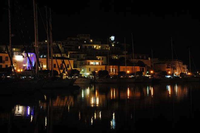 Poros by night