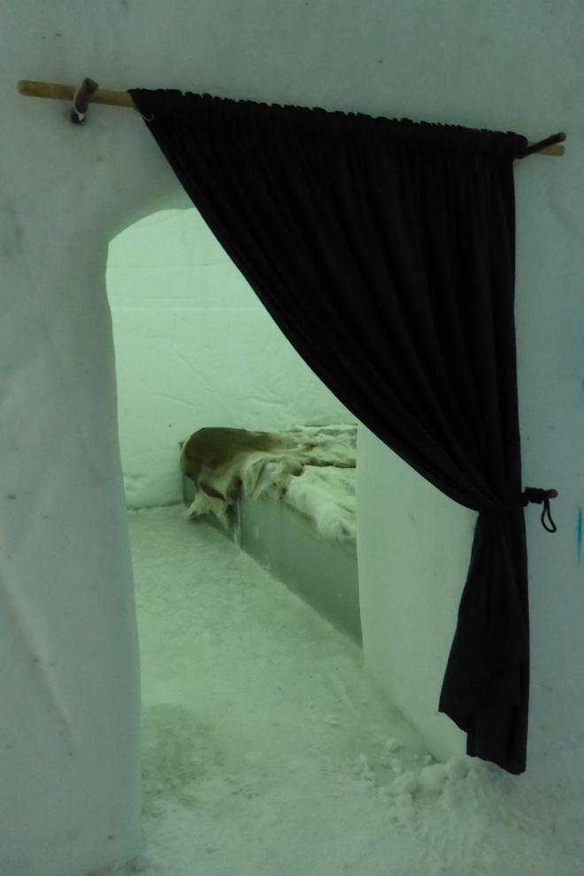 Standard room at Sorrisniva Ice Hotel