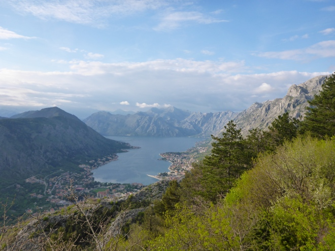 View of Kotor and the bay