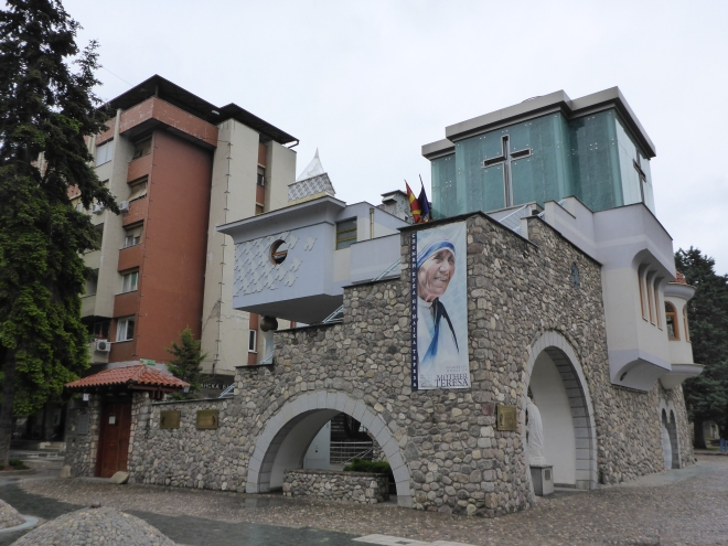 Mother Teresa's memorial house.