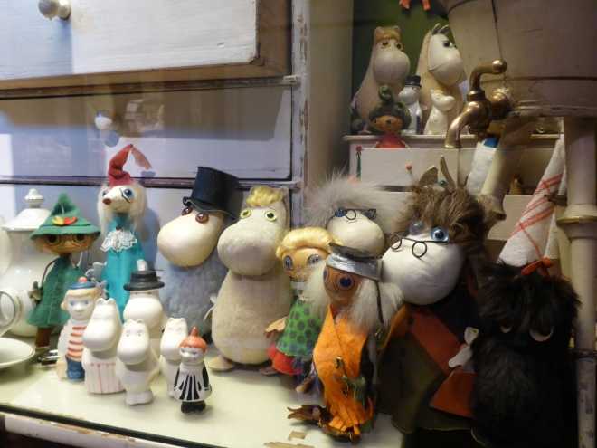 Off course they also had Moomin dolls at the Toy Museum at Suomenlinna