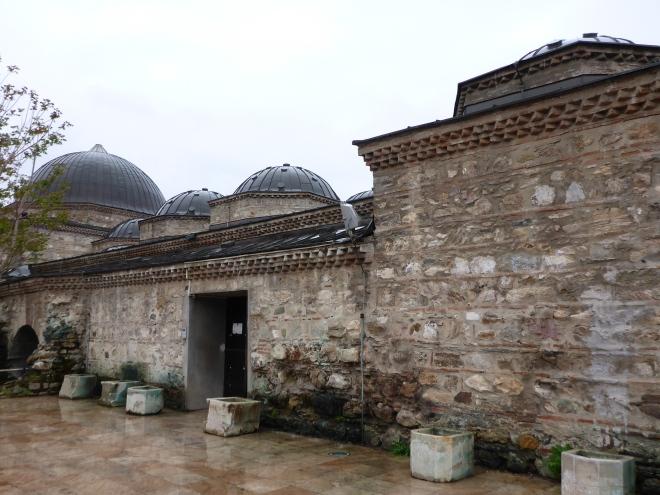 Old Daut Pasha Hamam, now housing the Macedonian National Gallery.