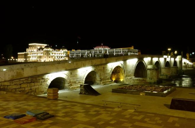 Skopje by night 1