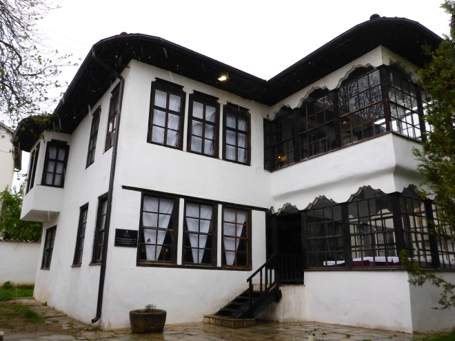 The ethnological museum in Pristina.