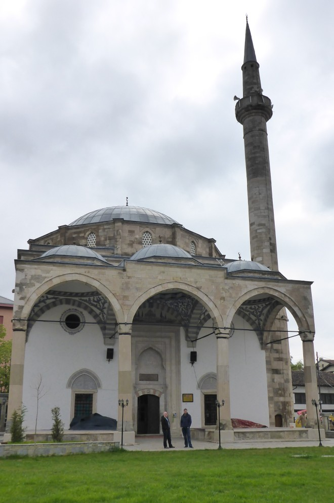 The fatih mosque.