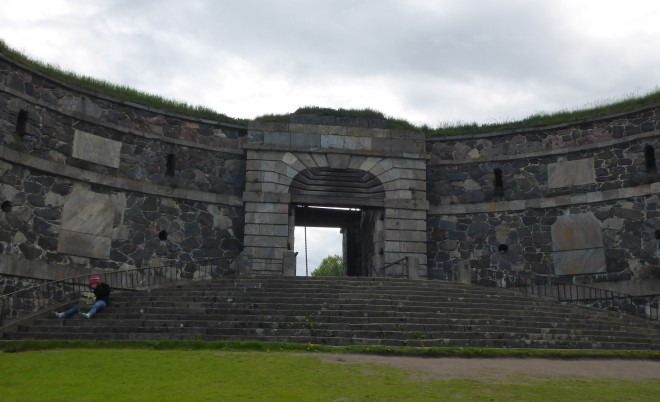 The King's Gate at Suomenlinna, built in 1953-54.