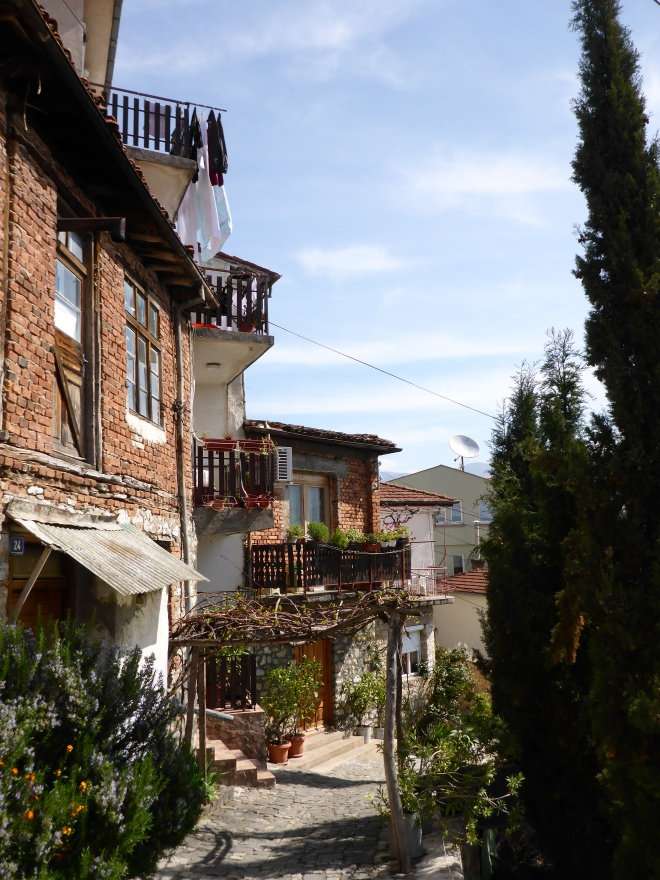 Charming street in Ohrid