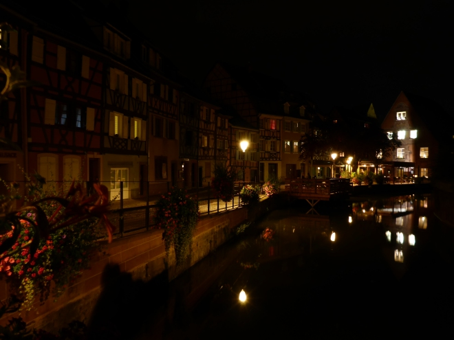 Colmar by night