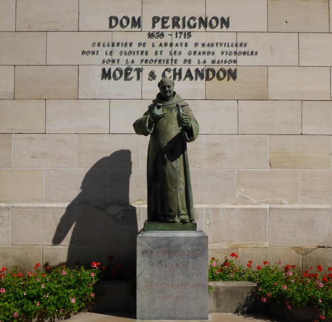 Dom Perignon at Möet&Chandon in Champagne