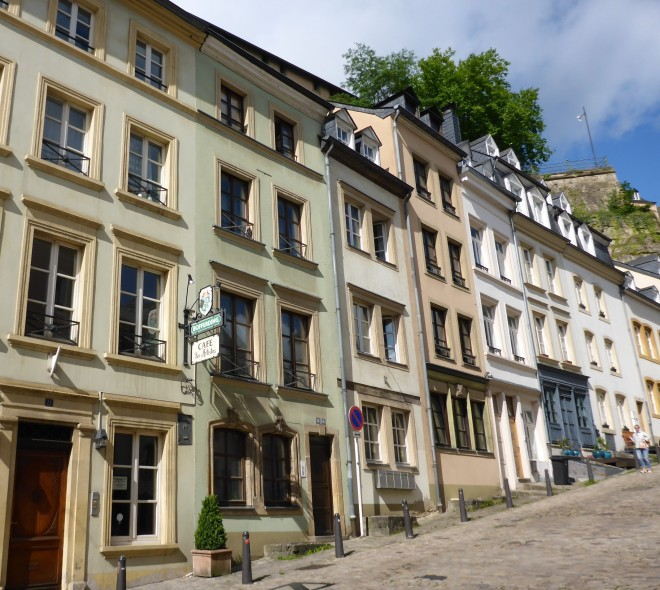 Houses in Grund in Luxembourg