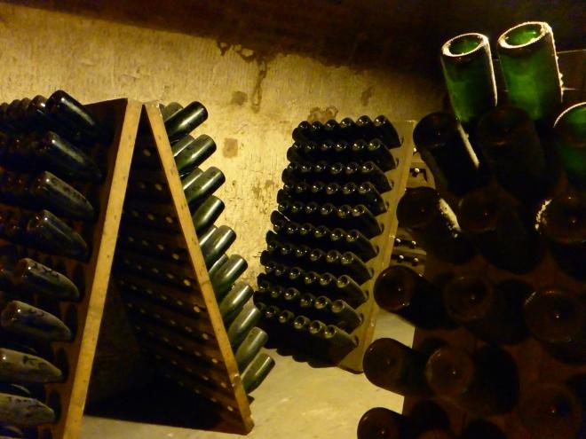 Möet&Chandon Champagne cellar 2
