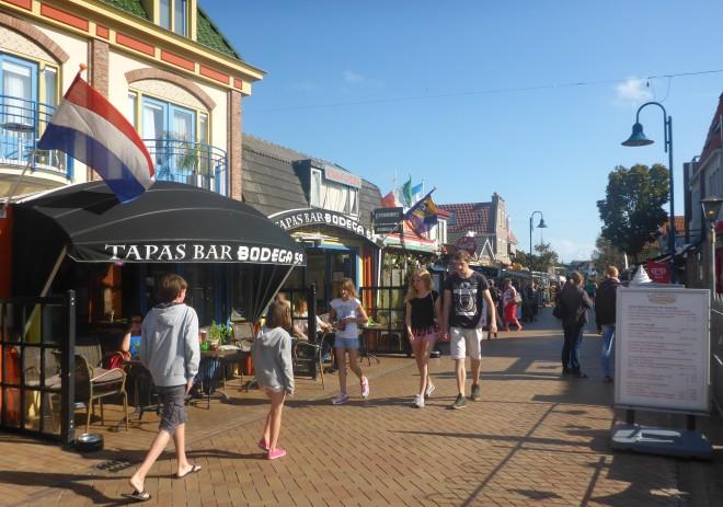 Street in De Koog