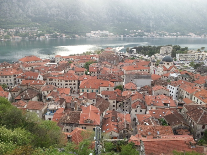 Walking the city wall in Kotor 2