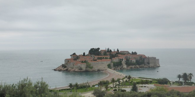 View of Sveti Stefan