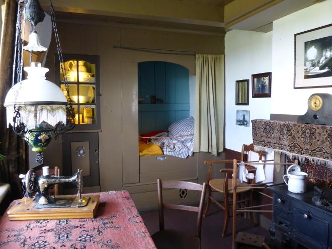 Livingroom in Museum Mill Blokweer in Kinderdijk