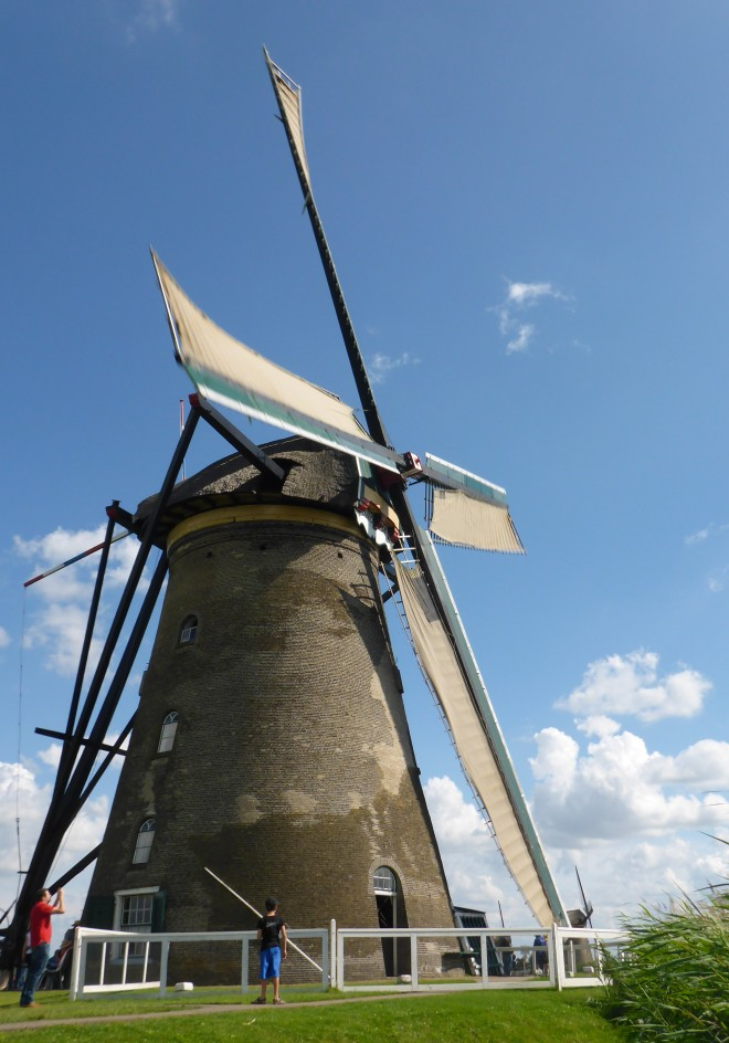 Museum Mill Blokweer in Kinderdijk