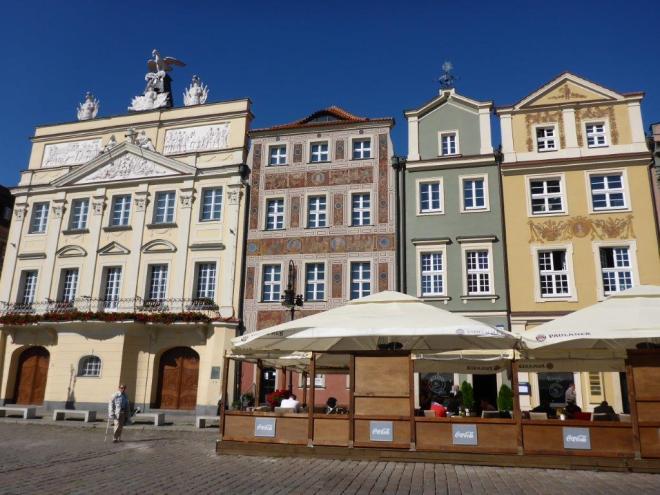 Poznan market square