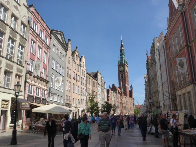 The old Hanseatic town Gdansk in Poland 3