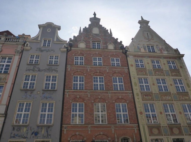 The old Hanseatic town Gdansk in Poland 4
