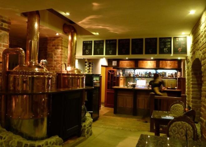 Trenčiansky pivovar Lanius in Trencin