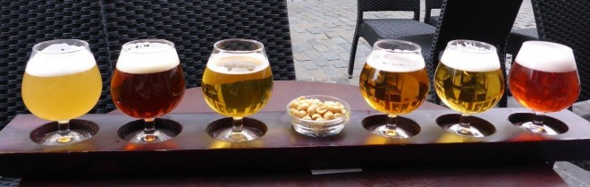 Different collection of Belgian Beer