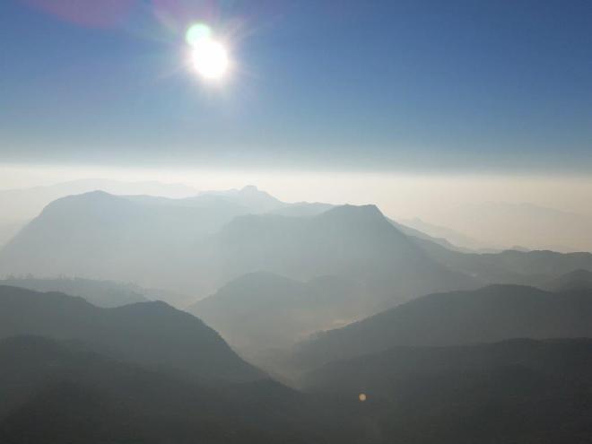 Sunrise seen from the top of Adam's Peak in Sri Lanka 5