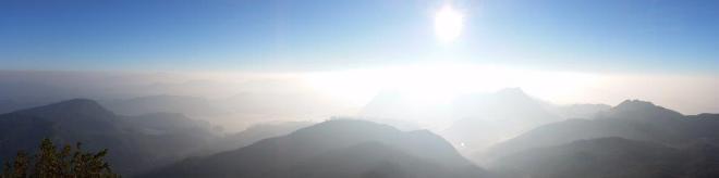 Sunrise seen from the top of Adam's Peak in Sri Lanka 6