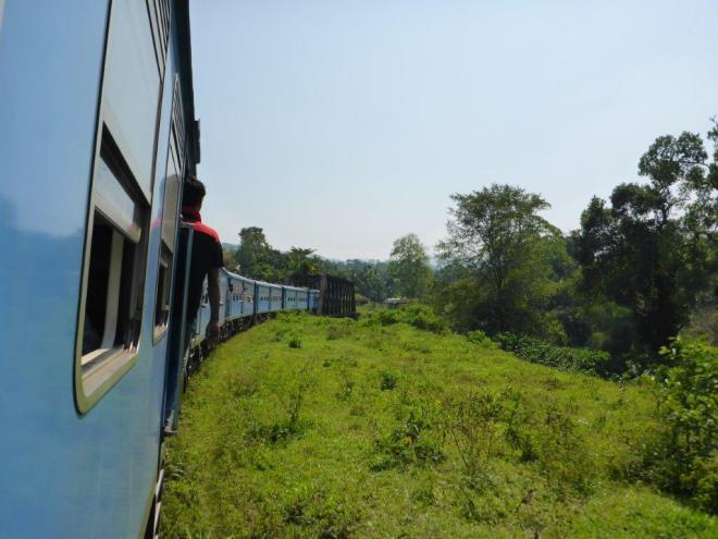 Train ride from Kandy to Hatton.