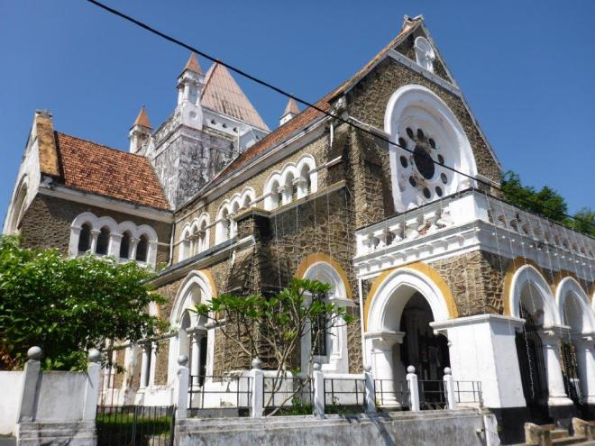 Galle Anglican church.