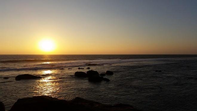 Sunset in Galle