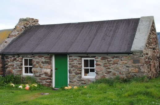 A Böd in Shetland. Originally used to house fishermen and their gear during the fishing season.