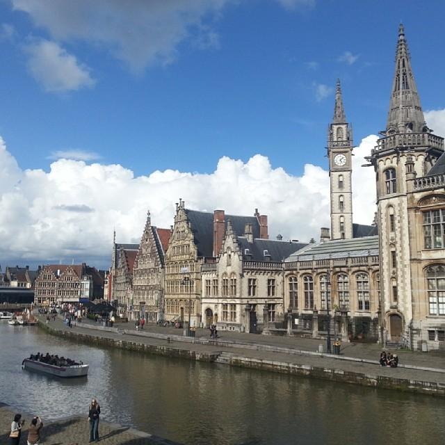Beautiful Ghent in Belgium