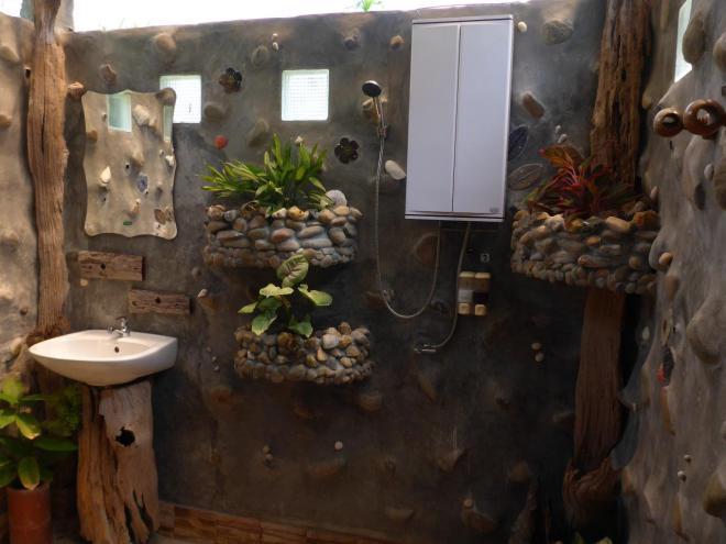 Bathroom at Dusita Resort, Koh Kood