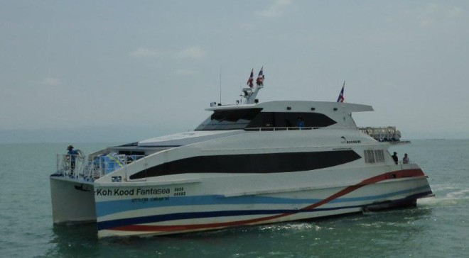 Boonsiri Catamaran between Trat and Koh Kood/Koh Kut