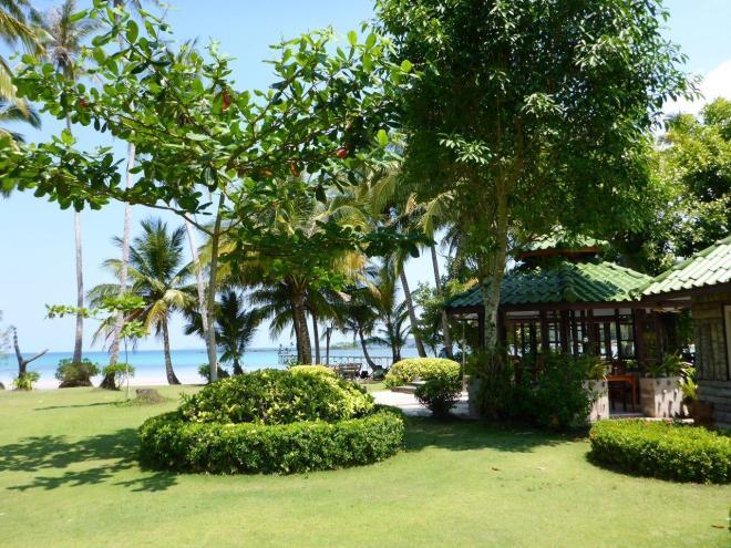 Common area at Dusita Resort, Koh Kood