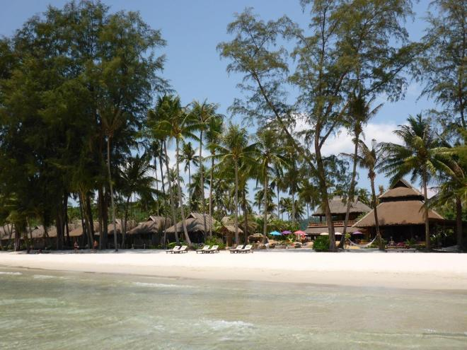 The beach by Tinkerbell at Koh Kood