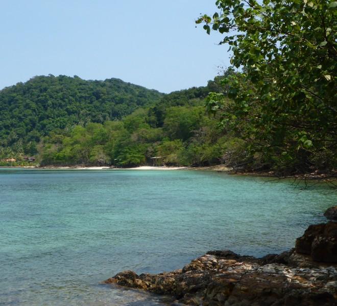 The bungalow bay at Good Feeling at Koh Wai, Thailand