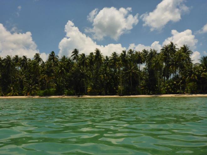 View of the beach at Dusita Resort, Koh Kood