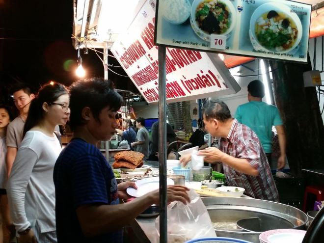 Street food in progresss