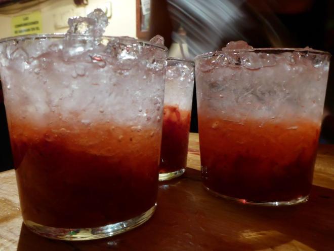 Drinks in La Latina. Madrid, Spain.
