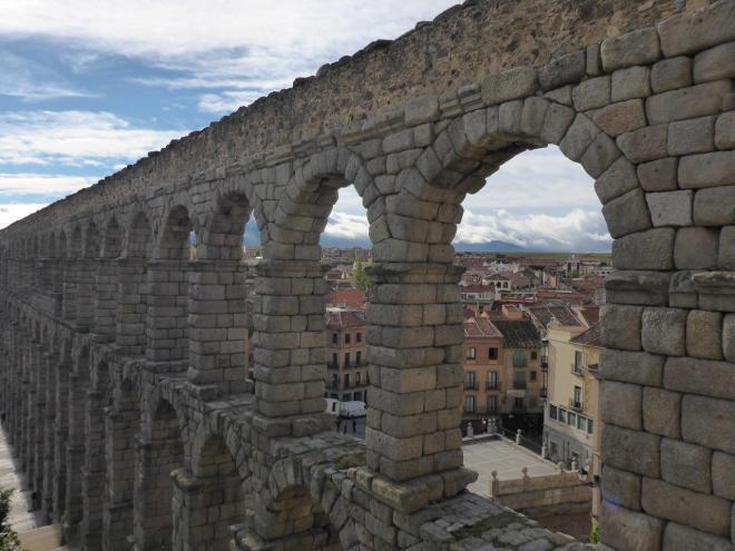 Segovia nearby Madrid, Spain.