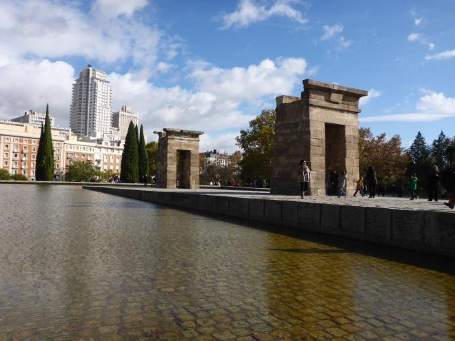 Templo Debod. Madrid, Spain.