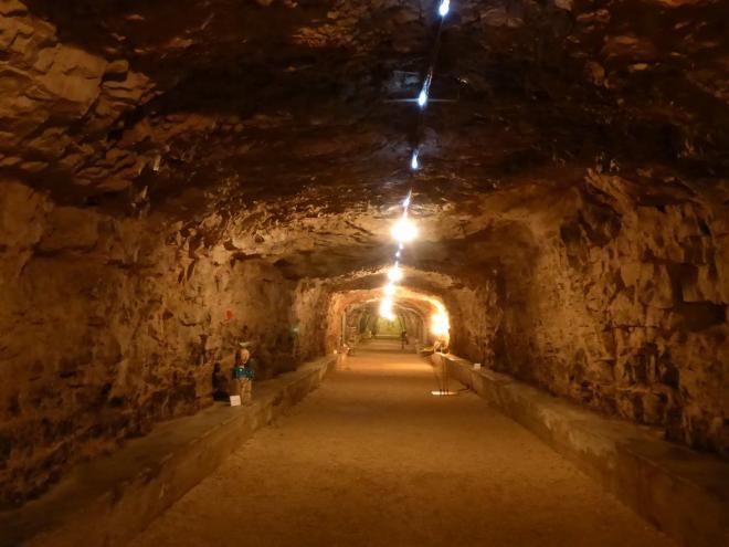 Zerostrasse, the underground shelter tunnels of Pula, Croatia